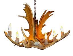 Antlers Lighting Chandelier Lamp U0026 Lighting Authentic Looking Deer Antler Chandelier For Your