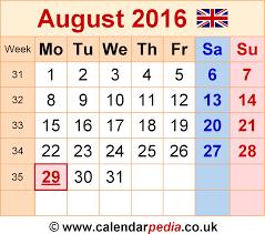 august 2016 calendar federal holidays august 2016 calendar
