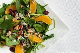 Best Salad Recipes Spinach Salad With Mangoes Omnivore U0027s Cookbook