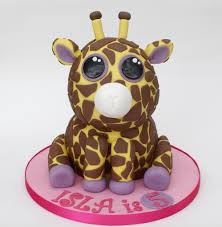 beanie boo giraffe cake request birthday gir u2026 flickr