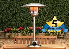 patio heaters review fire mountain 3000w table top gas patio heater patiomate