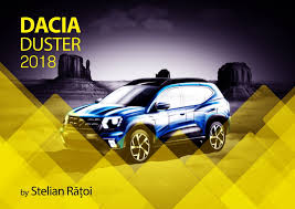 renault duster 2018 2018 dacia duster rendering looks plausible enough