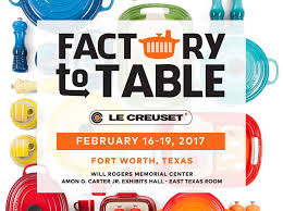 le creuset factory to table le creuset our factory to table sales event is back and facebook