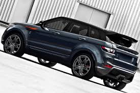 navy land rover range rover evoque rs250 dark tungsten metallic edition by kahn design