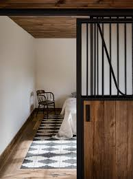 Interior Wood Design A Converted Catskills Guest Barn For Actress Amanda Seyfried
