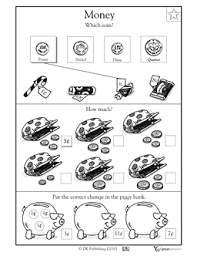 coin identification worksheet 1st grade 2nd grade math worksheets which coin greatschools