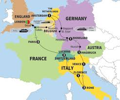 netherland map europe european discoveries trafalgar gsa