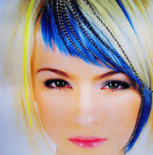 feathers in hair feather hair extentions best hair salon in augusta