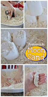 kid u0027s craft homemade moon sand u2013 love and laundry