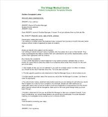 ideas collection sample complaint letter human resources manager