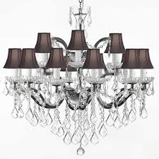 amusing clip on chandelier shades uk in clip on chandelier lamp