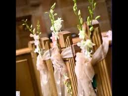 pew decorations for weddings simple diy wedding pew decorating ideas