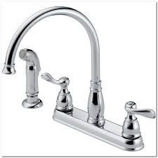kitchen faucet diverter moen 2 handle kitchen faucet diverter sinks and faucets home