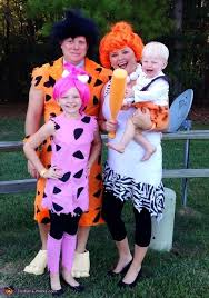 Halloween Costumes 1 Olds 25 Flintstones Family Costumes Ideas Pebbles