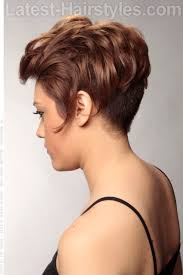 hair that is asymetric in back short asymmetric haircut with waves side view i love it but don