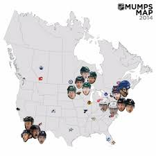 Nhl Map The Nhl Mumps As Told By Twitter