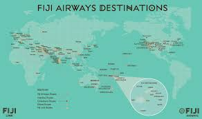 Hawaiian Airlines Route Map by How Do I Get To Fiji Venture Fiji