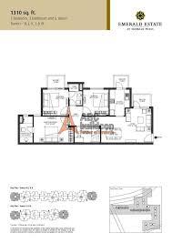 floor plan photos emaar mgf emerald estate floor plan floorplan in