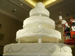 giant wedding cakes giant wedding cake ap family policy of wv