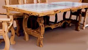 Southwest Dining Room Furniture Dining Table Lodge Style With Western Dining Room Sets Home And