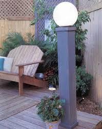yard lights outdoor wood plans immediate