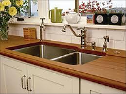 Wood Kitchen Countertops Cost Kitchen Kitchen Storage Cabinets Antique White Kitchen Cabinets
