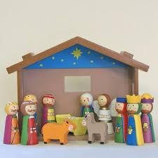 wooden nativity set childrens wooden nativity set wood nativity uk serenity gifts