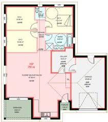 plan maison 3 chambres plain pied garage plan maison contemporaine plain pied en l 3 chambres et garage