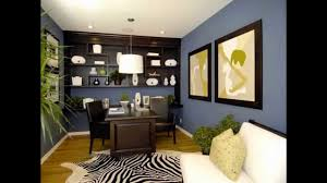 Office Wall Decorating Ideas For Work Cool Home Office Wall Color Ideas Youtube
