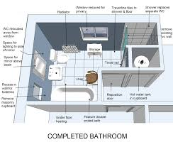 How To Plan Floor Tile Layout by Bathroom Bathroom Layout With 2 Doors Design Ideas For Modern