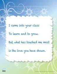 thank you cards for teachers my special printable appreciation poem