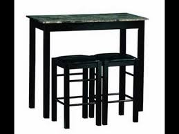 Zinc Top Bistro Table 3 Bistro Set Counter Height Kitchen Dining Pub Bar Table