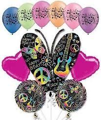 large birthday balloons neon butterfly happy birthday balloon bouquet jeckaroonie