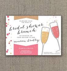 invitations for bridal luncheon bridal shower brunch invitations kawaiitheo