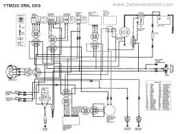 yamaha moto 4 350 wiring diagram gooddy org
