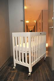 Alma Mini Crib Bloom Alma Crib Frame Coconut White Furniturendecor