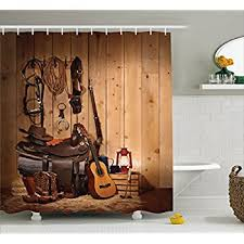 Country Themed Shower Curtains Amazon Com New Choice Cool Kinds Of Guitar Shower Curtain 60