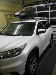 nissan highlander 2015 base rack and cargo box installation u2013 2015 toyota highlander