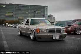 mercedes classic modified mafia boss meets stance speedhunters
