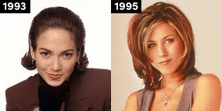 hairstyles for foreheads that stick out on a woman the hairstyle everyone was rocking the year you were born most