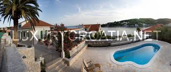 stone house with pool sumartin brac for up to twelve people