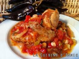 cuisine basque basque chicken recipe la cuisine d recipes
