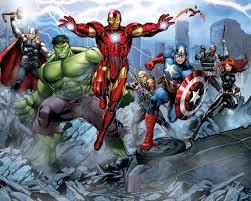 kapow superhero wallpaper trying to balance the madness