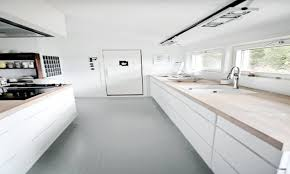 Ideas For Small Galley Kitchens Kitchen Cabinets Off White Cabinets Black Granite Small Kitchen