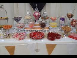 Wedding Candy Table Wedding Sweets Table Candy Bar Pick N Mix Nottingham Derby