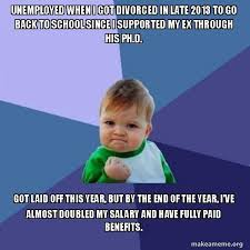 Single Parent Meme - im ridiculously proud of my year and how hard i worked as a single