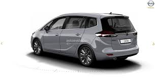 opel zafira interior 2017 opel zafira facelift leaked on gm website here are the first