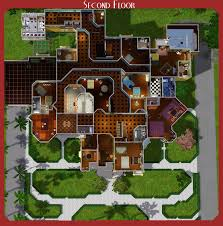 winchester mansion floor plan mod the sims the winchester mystery house floorplans
