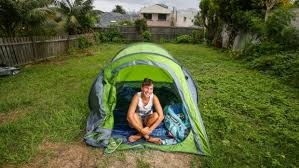 Camping In The Backyard Airbnb For Camping Homecamp Connects Tourists And Tents With