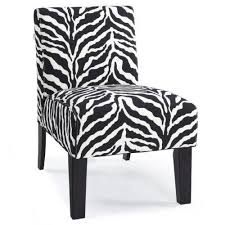 Zebra Dining Chair Covers Zebra Print Chair Ebay